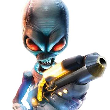 Destroy All Humans: Disintegrator Ray by pudic