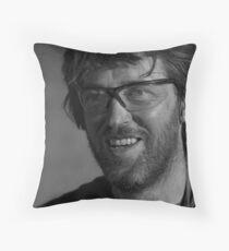 The Blacksmith Genius Throw Pillow