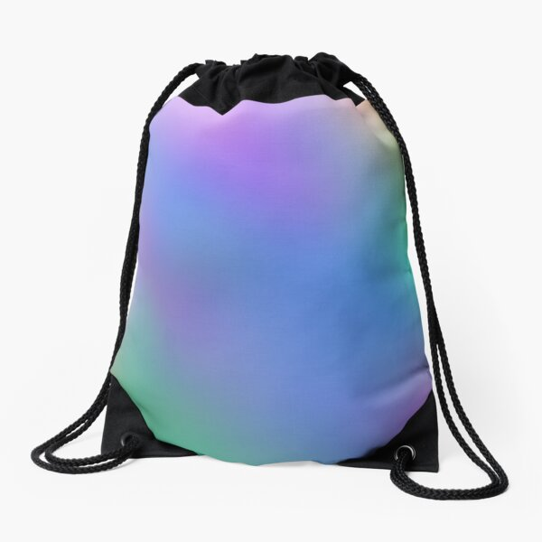 Optical illusion, #pattern, #abstract, #art, #design, shape, spiral, curve, decoration, futuristic, psychedelic Drawstring Bag