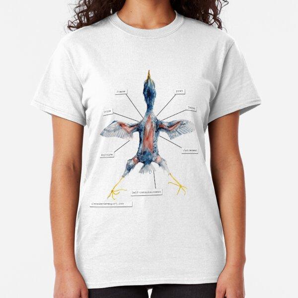 Unscientific Illustration - not a dead bird Classic T-Shirt