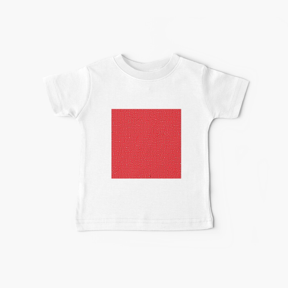 Optical illusion, #pattern, #abstract, #art, #design, shape, spiral, curve, decoration, futuristic, psychedelic Baby T-Shirt