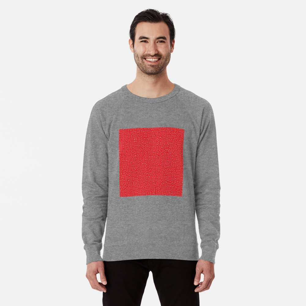 Optical illusion, #pattern, #abstract, #art, #design, shape, spiral, curve, decoration, futuristic, psychedelic Lightweight Sweatshirt