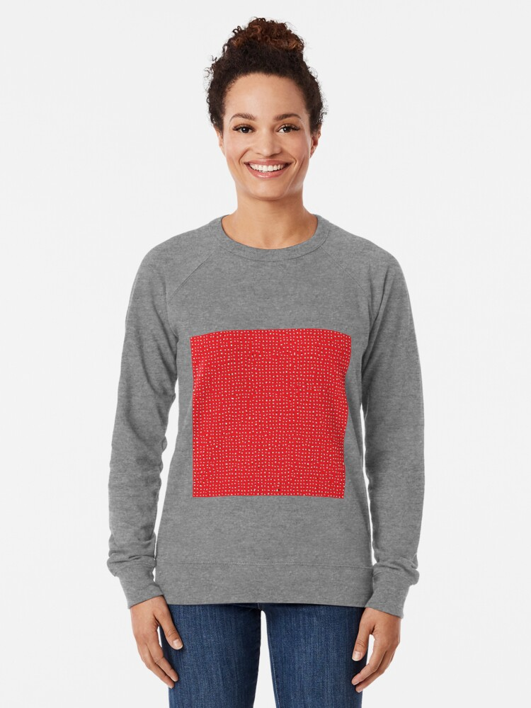 Alternate view of Optical illusion, #pattern, #abstract, #art, #design, shape, spiral, curve, decoration, futuristic, psychedelic Lightweight Sweatshirt