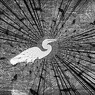 Fishing Egret by DottieDees