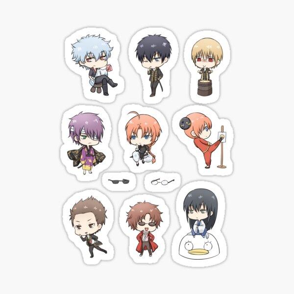 Gintama Chibi Set  Sticker