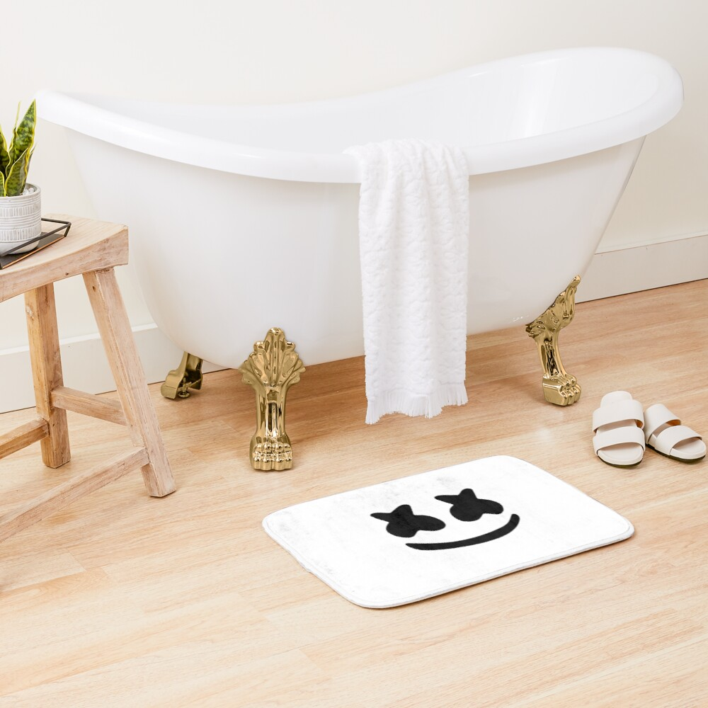 marshmello Bath Mat
