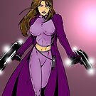 Lady Solitaire The Vampire Hunter by redskyeworld