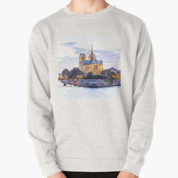 Notre Dame Paris Pullover Sweatshirt