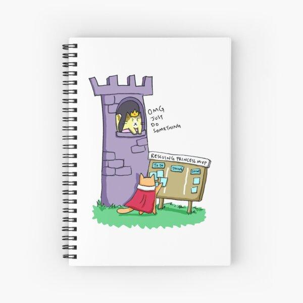 Princess Rescue MVP Spiral Notebook