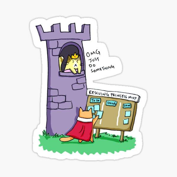 Princess Rescue MVP Sticker