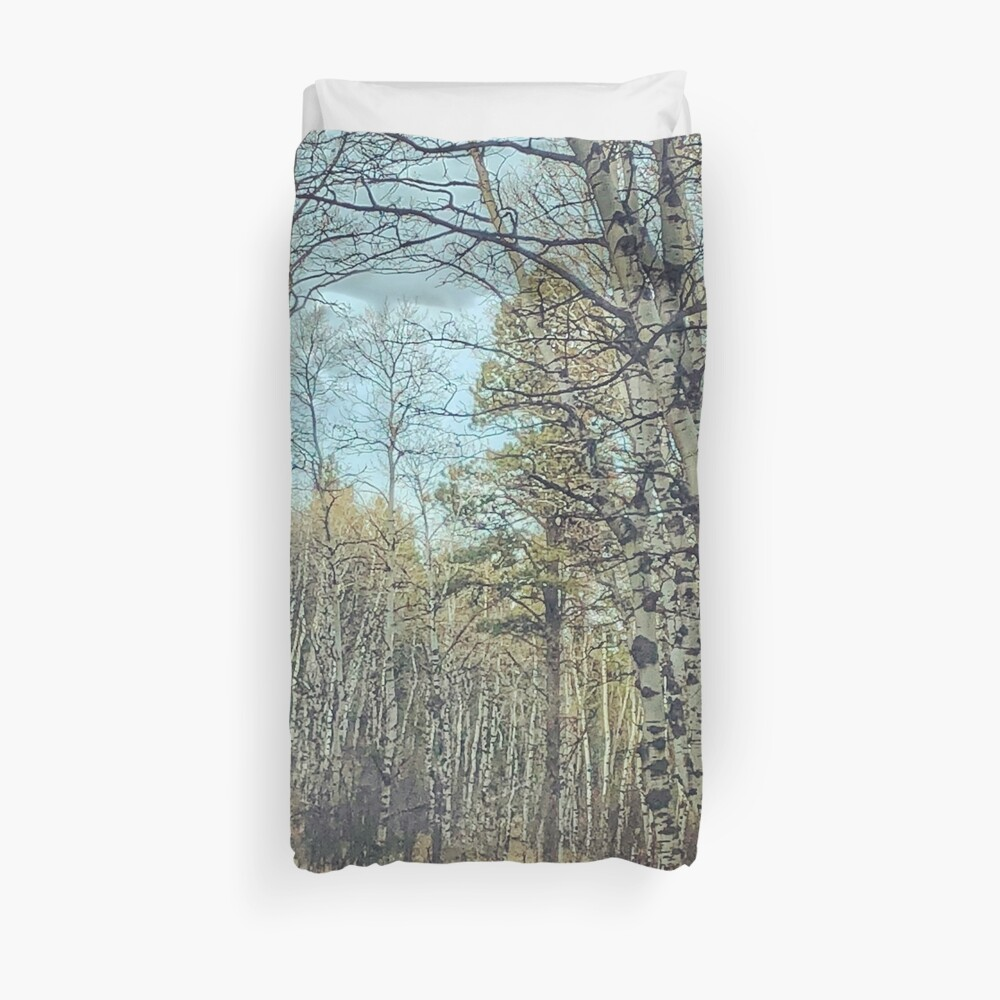 The Road Less Traveled Duvet Cover By Neenwatson Redbubble