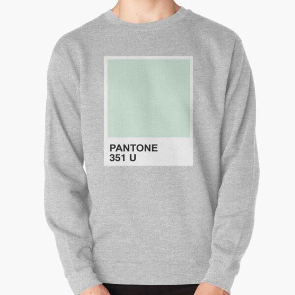 Pantone Mint + Tangerine Pullover Sweatshirt