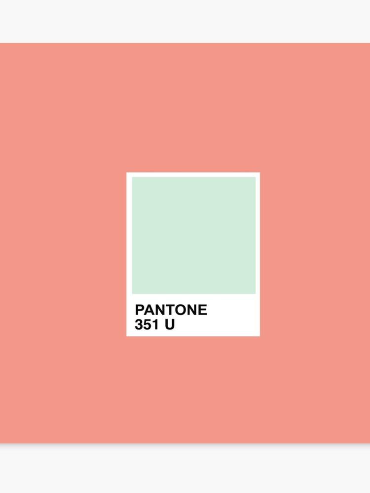 98594184ec26 Pantone Mint + Tangerine
