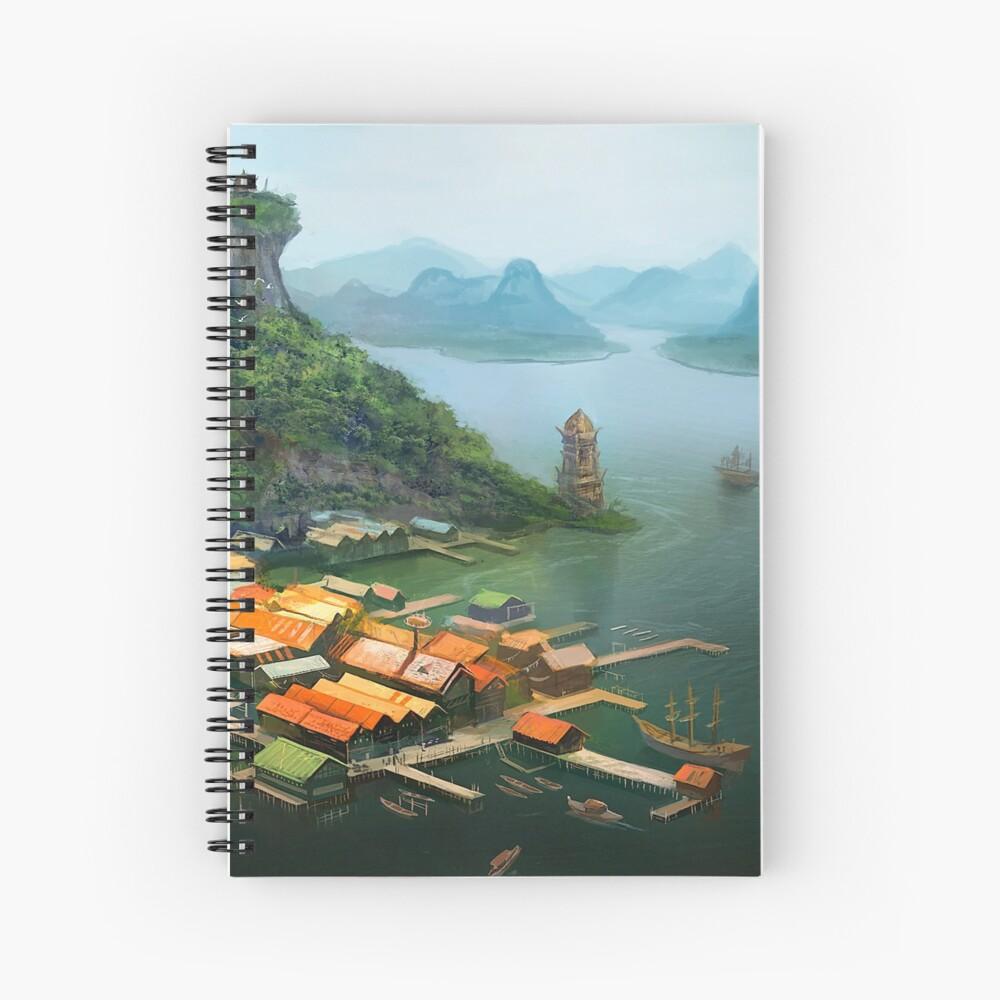 Hometown Spiral Notebook