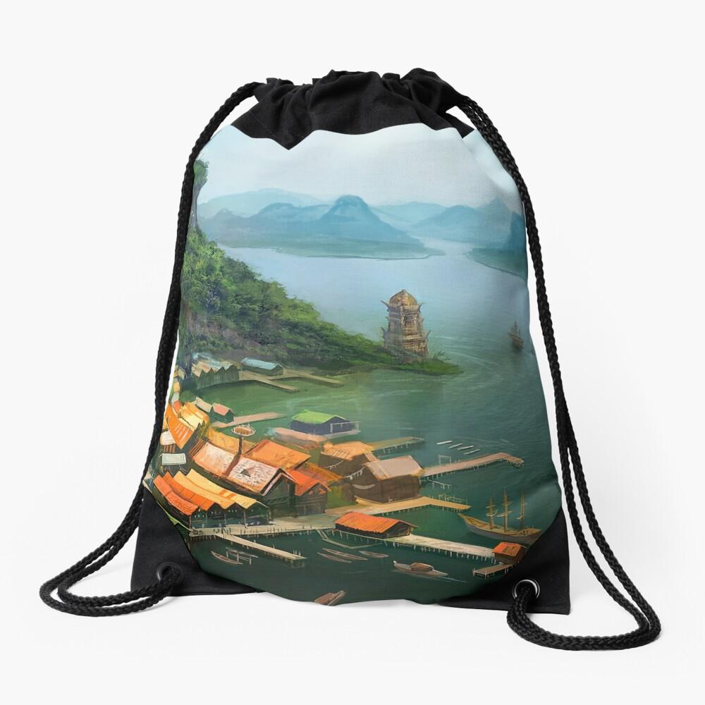 Hometown Drawstring Bag