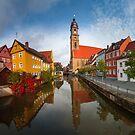 Vils River, Amberg, Germany by Daniel H Chui