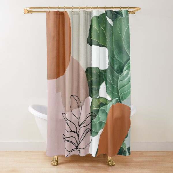 Simpatico V2 Shower Curtain