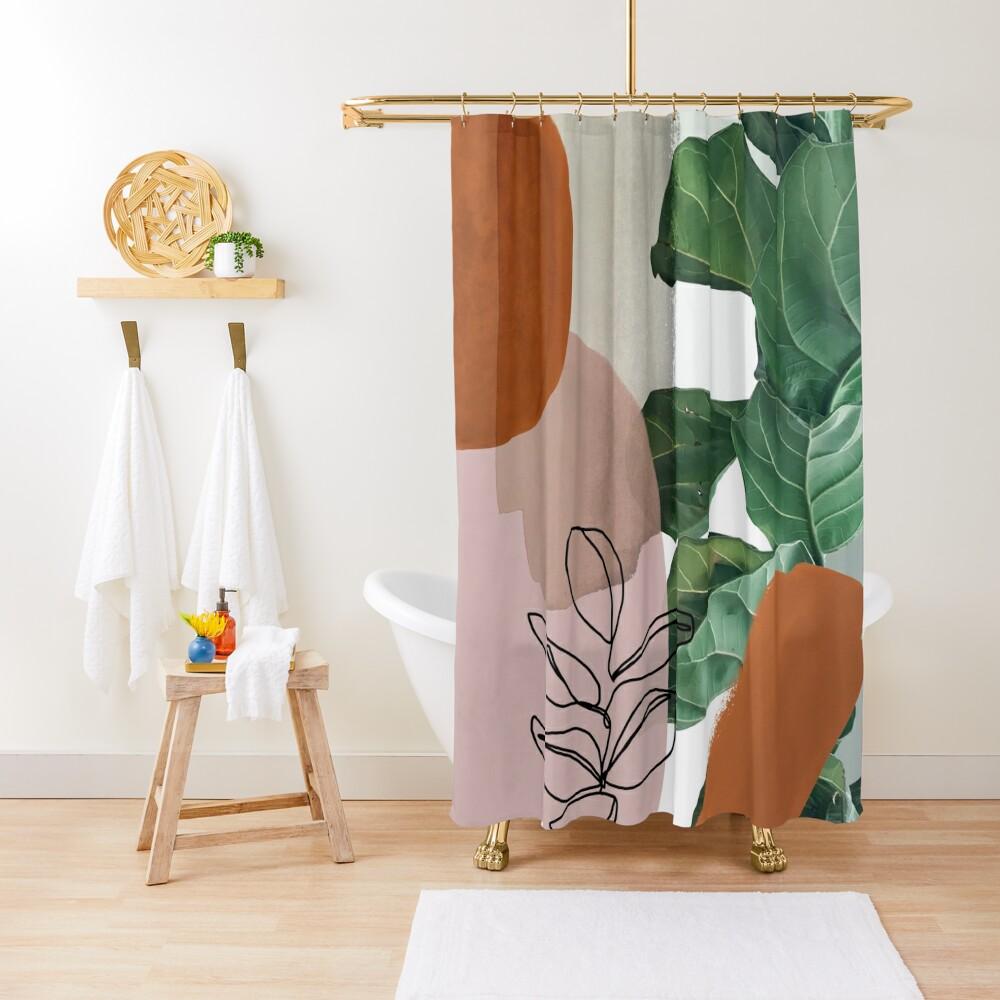 Simpatico V2 Shower Curtain