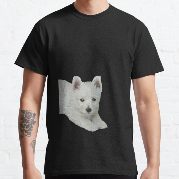 West Highland White Terrier Puppy 3 Classic T-Shirt
