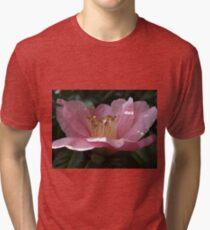 Crumpled Flower Tri-blend T-Shirt