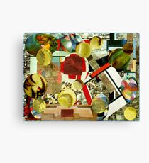 Playing Ping Pong. Canvas Print