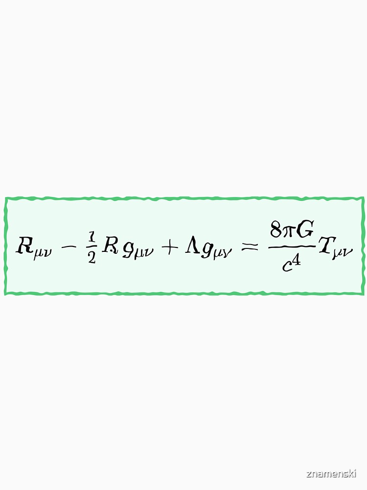 #General #Relativity - #Einstein Field #Equations (EFE; also Known as Einstein's Equations) by znamenski