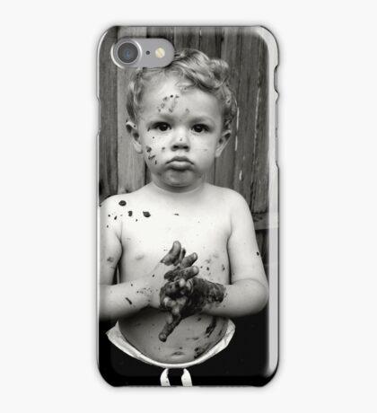 Levi likes the mud iPhone Case/Skin