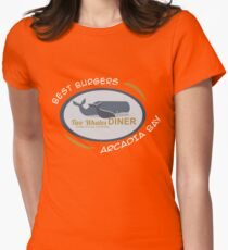Two Whales Diner Tourist Shirt - Episode 2 Womens Fitted T-Shirt