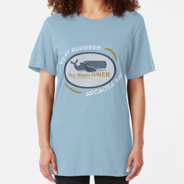 Two Whales Diner Tourist Shirt - Episode 2 Slim Fit T-Shirt