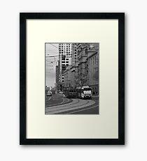Melbourne Trams Framed Print