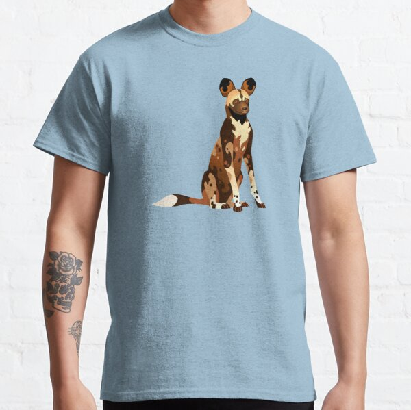 Afrikanischer Wildhund Classic T-Shirt