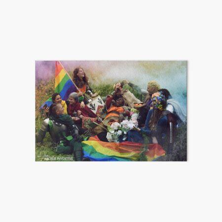 Pride Love  Art Board Print