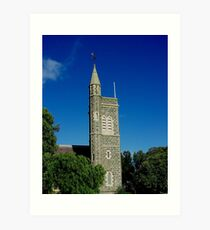 Christ Church, Birregurra. Art Print