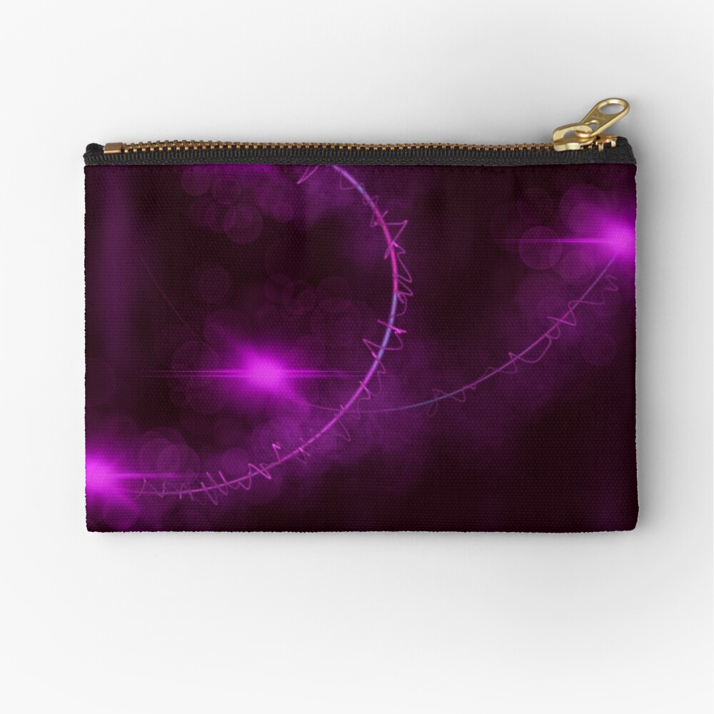 Passionate Grasp Zipper Pouch