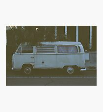 Old Van Photographic Print