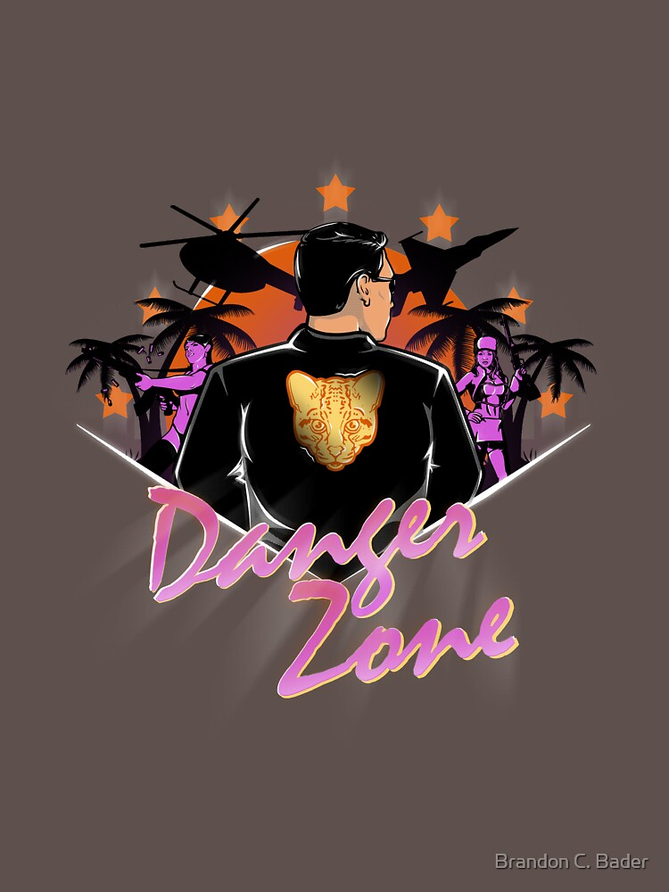 DRIVE TO THE DANGER ZONE | Unisex T-Shirt