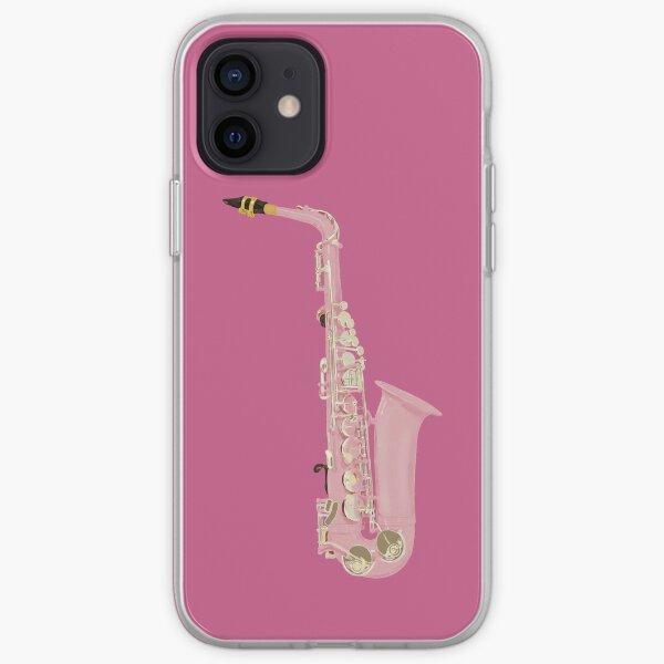 Coque iPhone « Saxophone », par ElectronicCloud   Redbubble