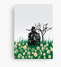 The end of Joy  (MGS3) Canvas Print
