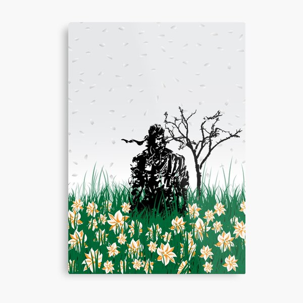 The end of Joy  (MGS3) Metal Print