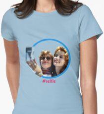 Thelma and Louise selfie - Susan Sarandon & Geena Davis Women's Fitted T-Shirt