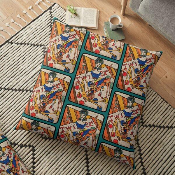 Twister! Floor Pillow