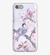 JAPANESE ART - Bird on Sakura iPhone Case/Skin