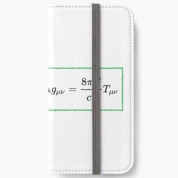 Math, #General #Relativity - #Einstein Field #Equations (EFE; also Known as Einstein's Equations) iPhone Wallet