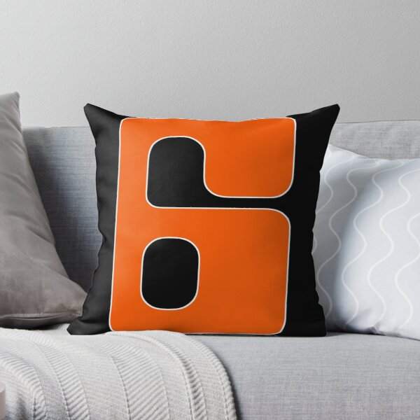 HOUSTON 6 Throw Pillow