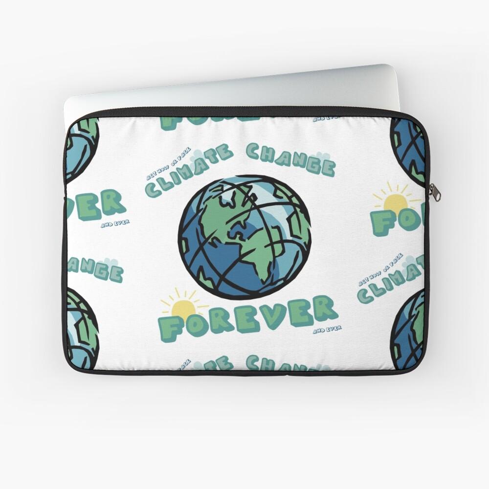 Klimawandel für immer Laptoptasche
