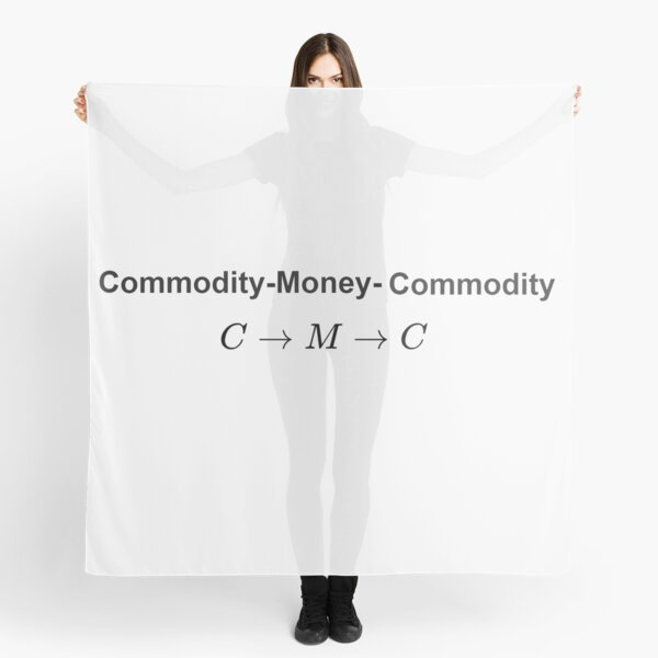 The #Metamorphosis of #Commodities. #Marx examines the paradoxical nature of the exchange of commodities: Commodity-#Money-Commodity Scarf