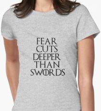 Fear cuts deeper than swords - Arya Stark T-Shirt