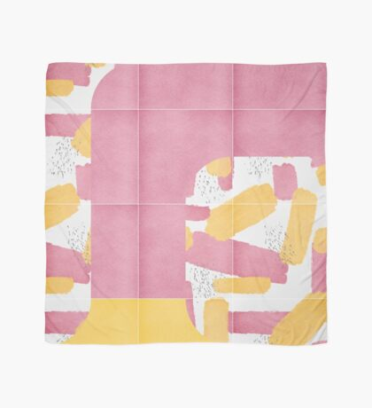 Bold Painted Tiles 01 #redbubble #midmod Scarf