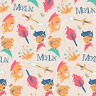 Merlin Pattern by maryluis