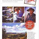 'Artist's Palette' Magazine Winsor & Newton Award by Lynda Robinson